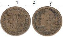 Изображение Монеты Камерун 50 сантим 1924 Латунь VF