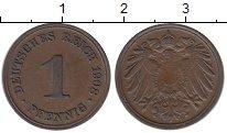 Изображение Монеты Германия 1 пфенниг 1908 Медь XF
