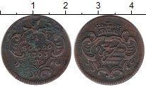 Изображение Монеты Италия Гориция 1 сольдо 1763 Медь XF-