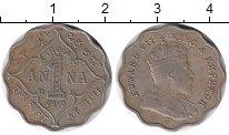 Изображение Монеты Индия 1 анна 1910 Медно-никель XF-