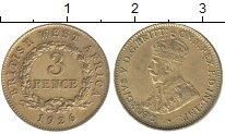 Изображение Монеты Западная Африка 3 пенса 1926 Латунь XF