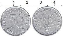 Изображение Монеты Германия Третий Рейх 50 пфеннигов 1943 Алюминий UNC-