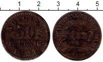 Изображение Монеты Германия Брауншвайг 50 пфеннигов 1921 Железо VF