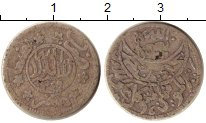 Изображение Монеты Йемен 1/10 риала 1940 Серебро VF