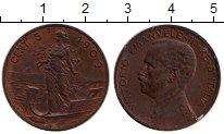 Изображение Монеты Италия 5 чентезимо 1909 Бронза XF+