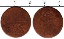 Изображение Монеты Германия Ханау-Мюнценберг 1 хеллер 1743 Медь VF