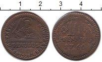 Изображение Монеты Германия Мюнстер 3 пфеннига 1760 Медь XF