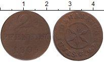 Изображение Монеты Германия Оснабрук 2 пфеннига 1805 Медь VF