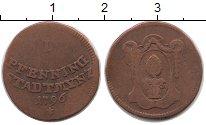 Изображение Монеты Германия Аугсбург 1 пфенниг 1796 Медь VF