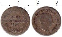 Изображение Монеты Германия Баден 2 крейцера 1830 Серебро VF