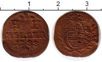 Изображение Монеты Германия Саксен-Хильдбургхаузен 1 геллер 1788 Медь VF