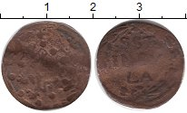 Изображение Монеты Нидерланды Голландия 1 стювер 0 Медь