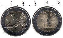 Изображение Монеты Люксембург 2 евро 2015 Биметалл UNC-
