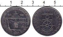 Изображение Монеты Италия 100 лир 1981 Медно-никель UNC-
