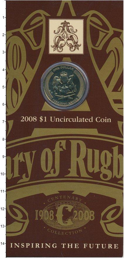 Изображение Подарочные монеты Австралия Кубок 2007  BUNC `Подарочная монета `