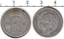 Изображение Монеты Нидерланды 1/2 гульдена 1930 Медно-никель XF