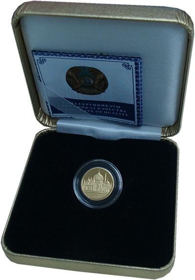 Изображение Подарочные монеты Казахстан 500 тенге 2012 Золото Proof `Серия ``Знаменитые