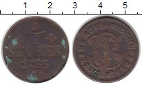 Изображение Монеты Германия Юлих-Берг 1/2 стюбера 1785 Медь VF