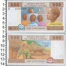 Изображение Боны Центральная Африка 500 франков 2002  UNC