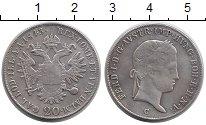Изображение Монеты Австрия 20 крейцеров 1843 Серебро VF