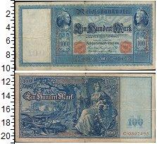 Изображение Банкноты Германия 100 марок 1908  VF