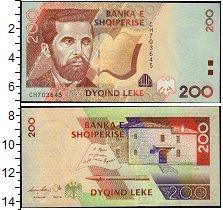 Изображение Банкноты Албания 200 лек 2007  UNC