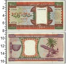 Изображение Банкноты Мавритания 200 угий 0  UNC-