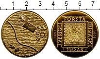 Изображение Монеты Швеция 50 крон 2005 Латунь UNC