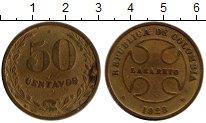 Изображение Монеты Колумбия 50 сентаво 1928 Латунь VF