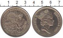 Изображение Монеты Великобритания Гибралтар 5 фунтов 1995 Латунь UNC-