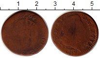 Изображение Монеты Франция 1/2 соля 1769 Медь F