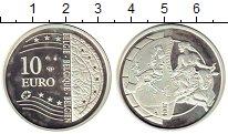 Изображение Монеты Бельгия 10 евро 2004 Серебро Proof-