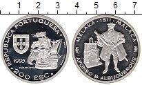 Изображение Монеты Португалия 200 эскудо 1995 Серебро Proof-