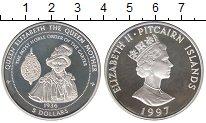 Изображение Монеты Великобритания Острова Питкэрн 5 долларов 1997 Серебро Proof-