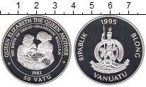 Изображение Монеты Вануату 50 вату 1995 Серебро Proof