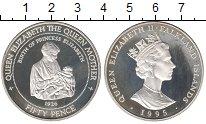 Изображение Монеты Великобритания Фолклендские острова 50 пенсов 1995 Серебро Proof-