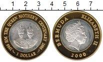 Монета Бермудские острова 1 доллар Серебро 2000 Proof- фото