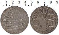 Изображение Монеты Турция 2 золота 1778 Серебро VF