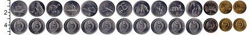 Изображение Наборы монет Северная Корея Северная Корея 2002 2002  UNC Транспорт, животные,
