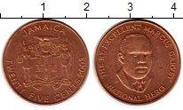 Изображение Монеты Ямайка 25 центов 2003 Бронза UNC-