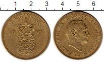 Изображение Монеты Дания 2 кроны 1959 Латунь XF