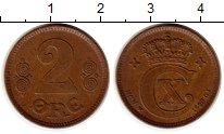 Изображение Монеты Дания 2 эре 1923 Бронза XF