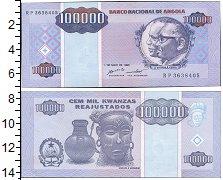 Изображение Банкноты Ангола 100000 кванза 1995  UNC