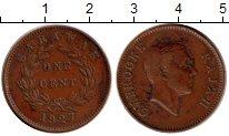 Изображение Монеты Малайзия Саравак 1 цент 1927 Бронза XF