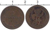 Изображение Монеты Германия Мекленбург-Шверин 2 пфеннига 1872 Медь XF-