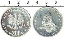 Изображение Монеты Польша 200 злотых 1982 Серебро Proof