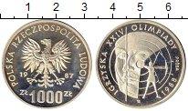 Изображение Монеты Польша 1000 злотых 1987 Серебро Proof
