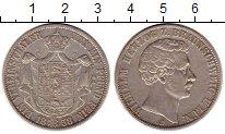 Изображение Монеты Германия Брауншвайг-Люнебург 1 талер 1858 Серебро XF
