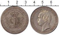 Изображение Монеты Германия Анхальт-Дессау 1 талер 1863 Серебро UNC-
