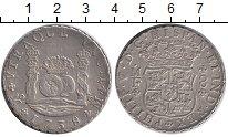 Изображение Монеты Мексика 8 реалов 1738 Серебро XF